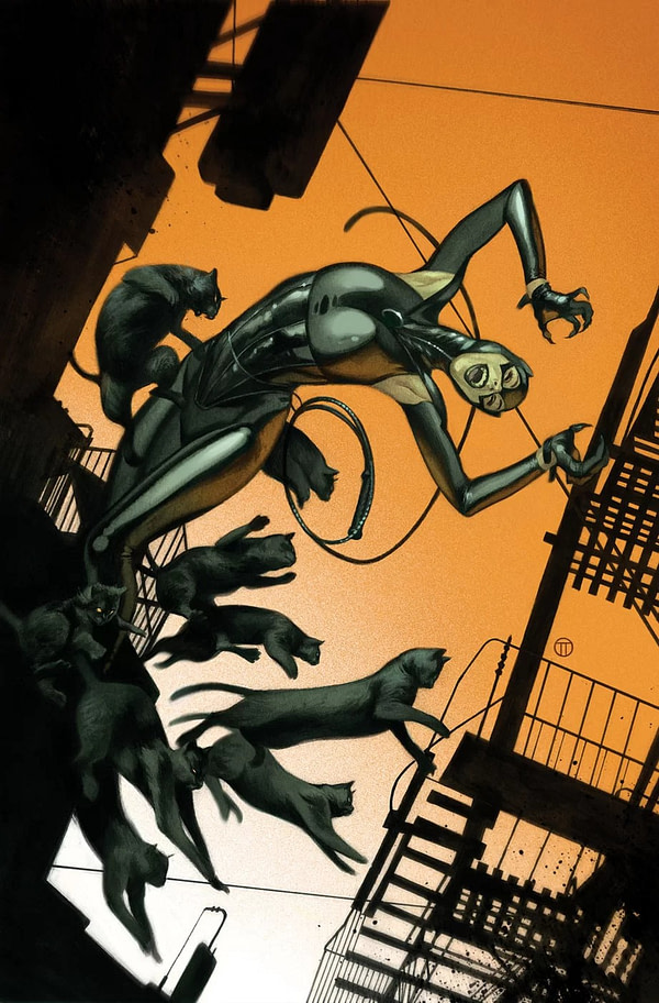 Paula Sevenbergen and Aneke Take Over Catwoman and April