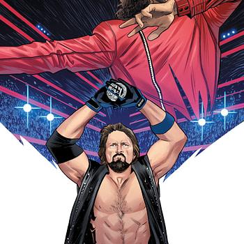 AJ Styles wwe comic book