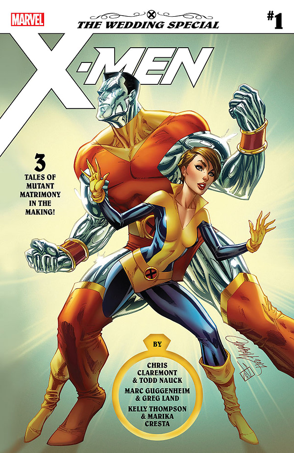 X-Men Wedding Special #1 cover by J. Scott Campbell and Sabine Rich