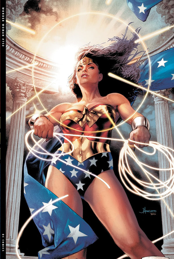 All 36 Retailer Variant Covers for Wonder Woman #750