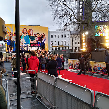 Military Wives Choir Singing at Leicester Square Ahead Of Tonight's Premiere