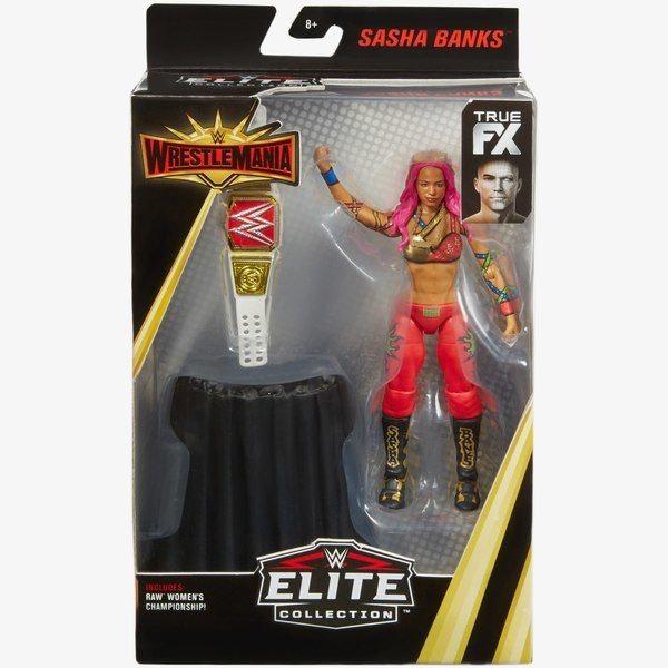 Mattel WWE Wrestlemania 35 Elite Figure Sasha Banks 1