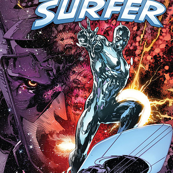 Silver Surfer Annual #1 cover by Philip Tan and Marte Gracia