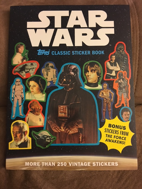 Topps Classic Star Wars Sticker Book 1