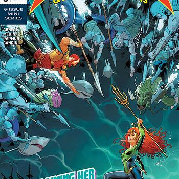 Mera: Queen of Atlantis #6 cover by Nicola Scott and Romulo Fajardo Jr.