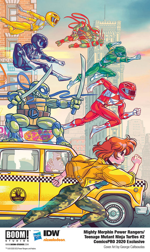 BOOM! Brings Exclusive Variants for Power Rangers/TMNT and Alienated to ComicsPRO