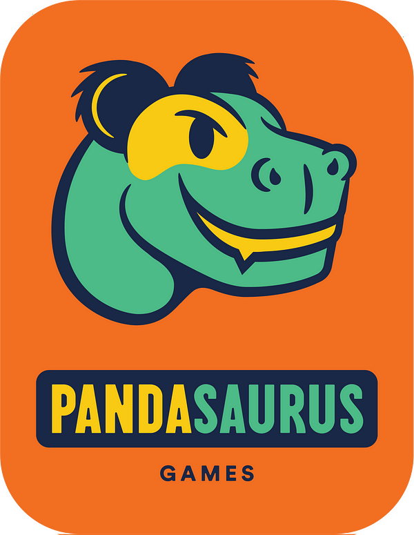 Pandasaurus Games Updates Their Company Logo & Style
