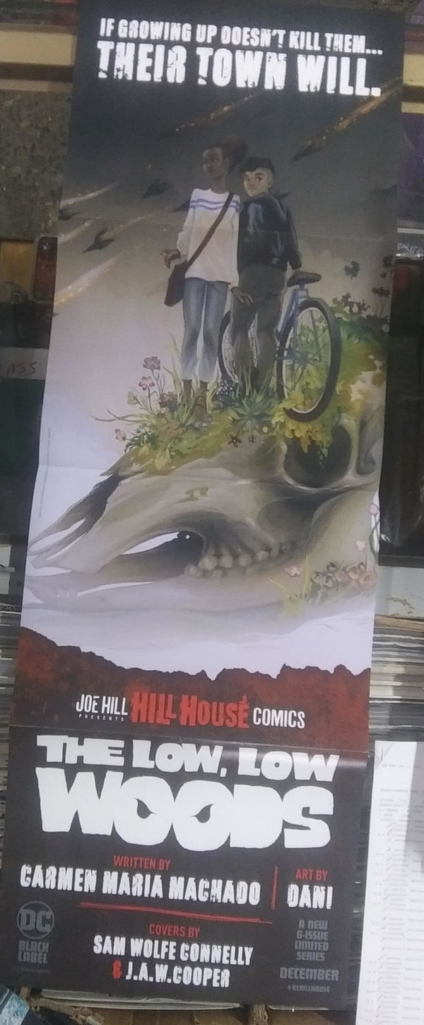 Promotional Posters That Comic Stores Get – Legion of Super-Heroes, Far Sector, 2099, Hill House, Deadpool, Stumptown, & More