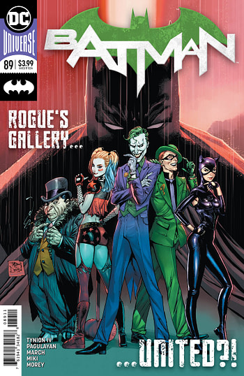 Batman#89 and Hell Arisen#3 Get Second Printings Before First Printings Go On Sale