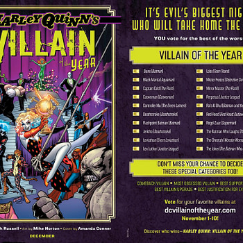 Nominations Revealed to Vote For DC Villain Of The YEar