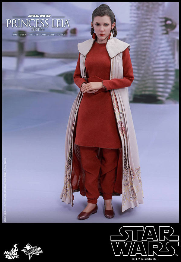 Hot Toys Bespin Gown Princess Leia 10