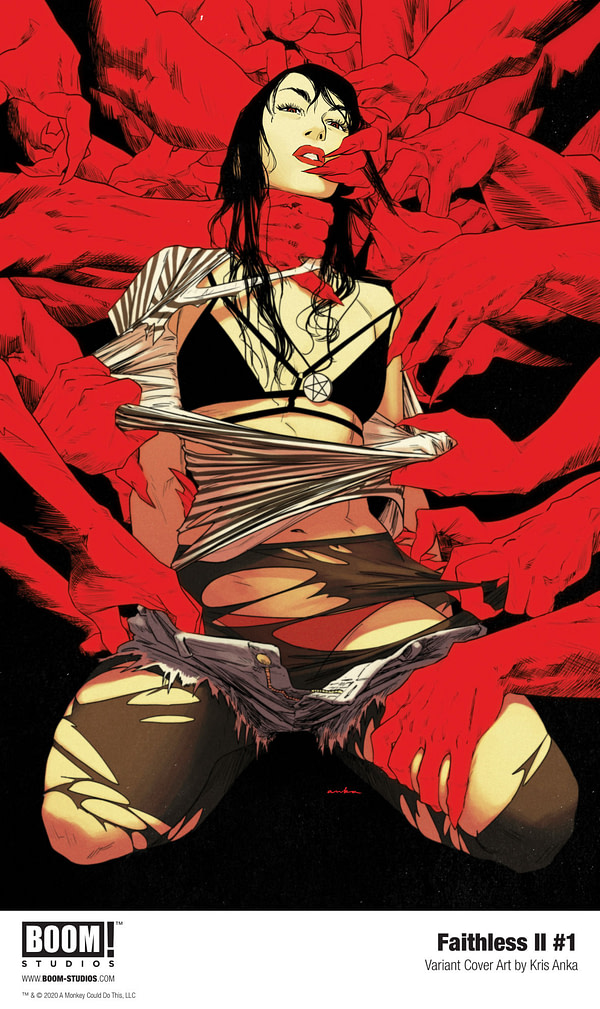 BOOM! Sets Final Volume of Llovet and Azzarello's Faithless for 2021