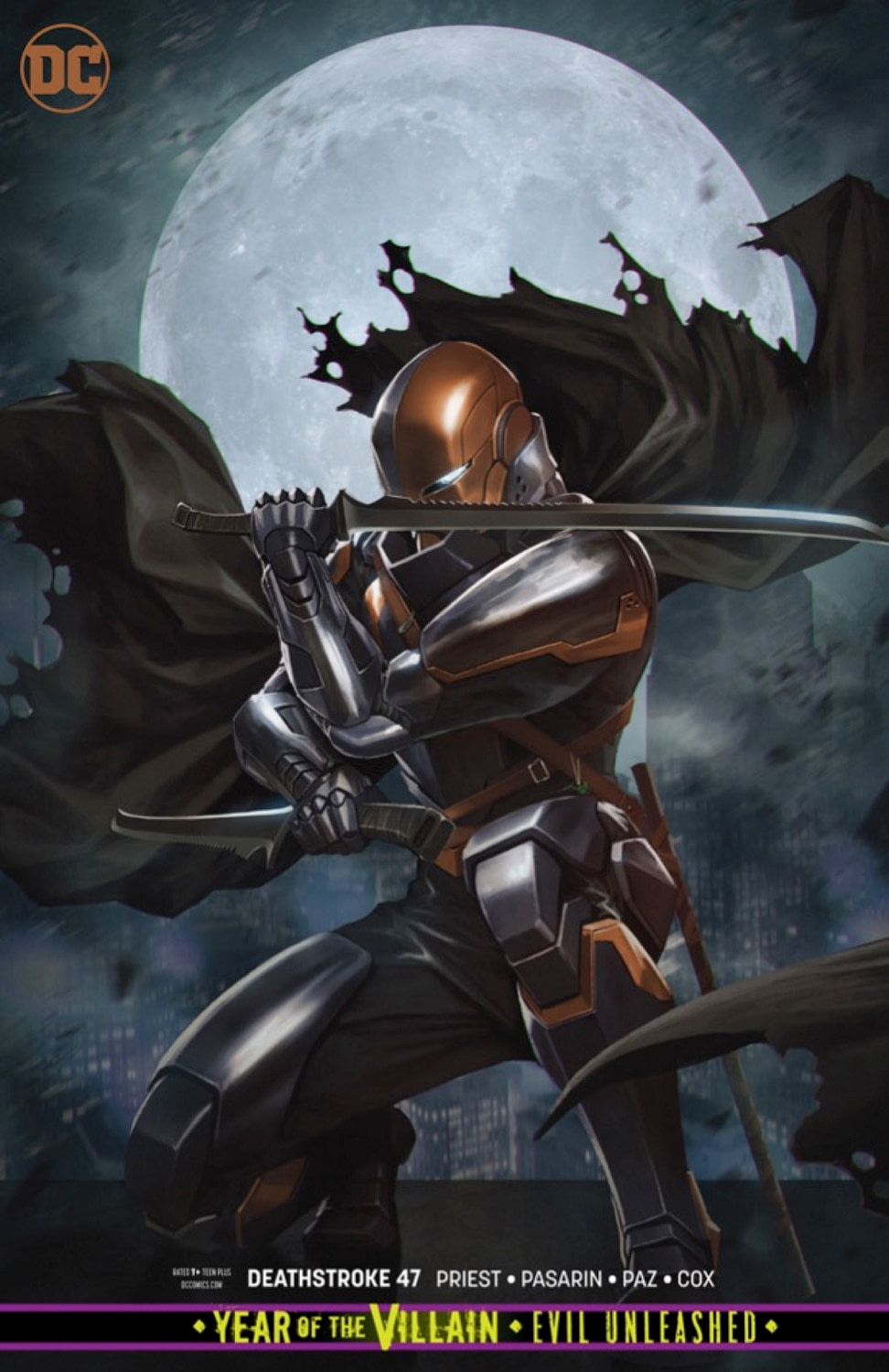EXCLUSIVE Deathstroke #47 Preview