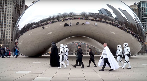Watch the Chicago PD Get into the Star Wars Celebration Spirit [VIDEO]