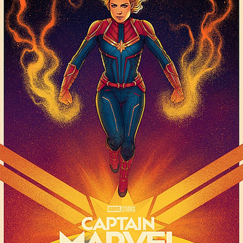 Mondo has an Awesome Jen Bartel Captain Marvel Poster on Sale Until April 28