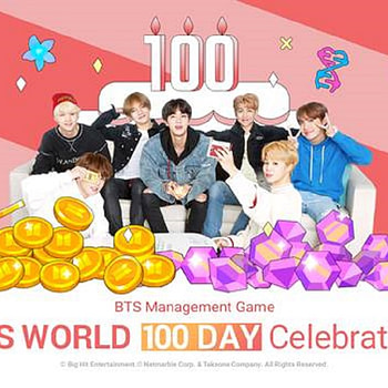 """BTS World"" Launches A 100 Day Celebration"