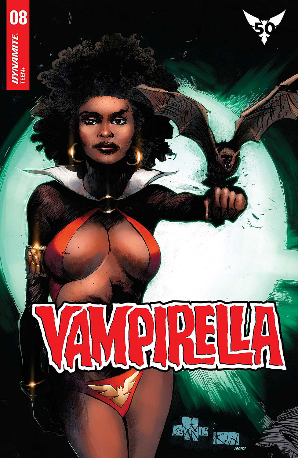 """REVIEW: Vampirella #8 -- """"Pretty Or Not, This Doesn't Connect The Dots"""""""