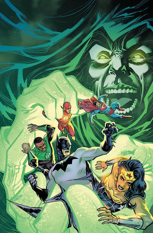 """The Spectre """"Returns"""" in April's Justice League #45, and He's Out for... Wait for It... Vengeance"""