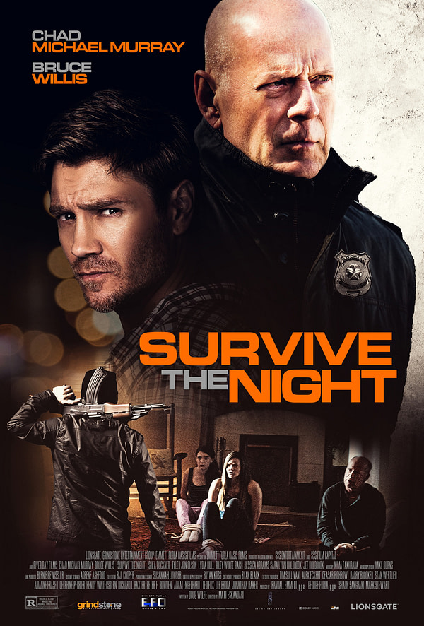 Survivre à la nuit Poster