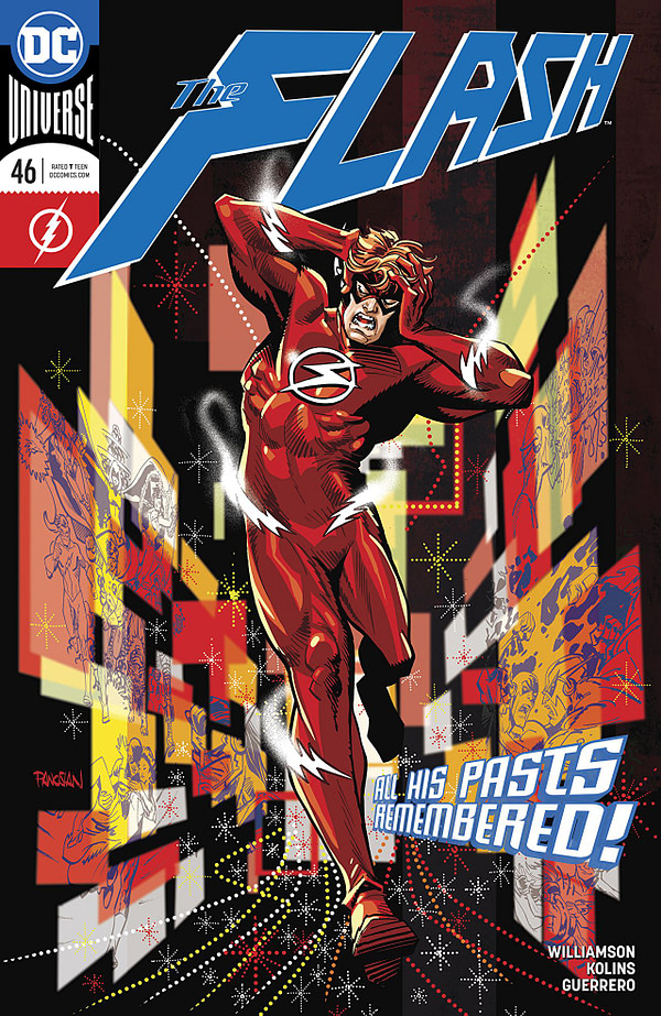 Flash #46 cover by Dan Panosian