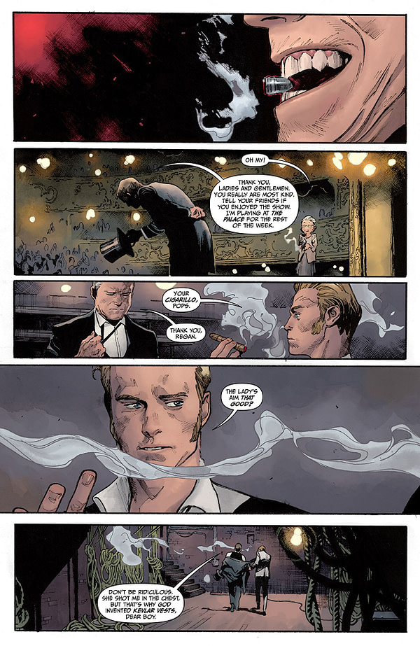 The Magic Order #1 art by Olivier Coipel and Dave Stewart