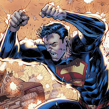 Action Comics #999 cover by Brett Booth, Norm Rapmund, and Andrew Dalhouse