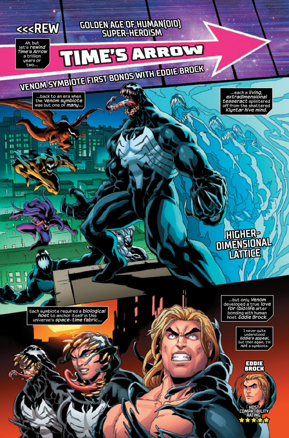 The Wilt Chamberlain of Symbiotes in Venom: The End #1 [Preview]