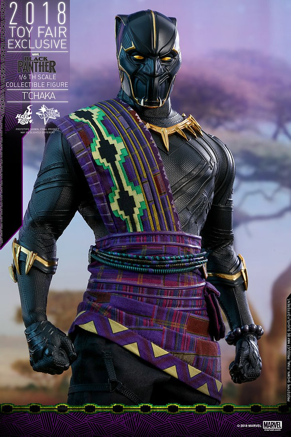 Hot Toys T'Chaka Black Panther 16