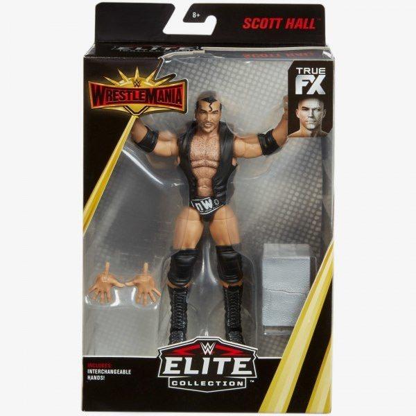 Mattel WWE Wrestlemania 35 Elite Figure Scott Hall 1