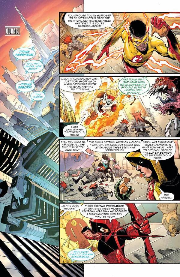 Teen Titans #39 [Preview]