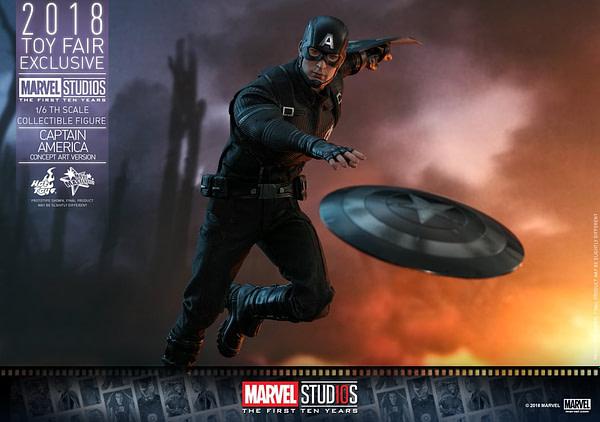 Hot Toys Concept Art Captain America 6