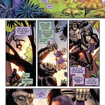 gail simone Red Sonja/Tarzan #4