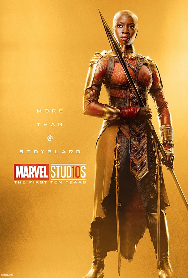 Marvel Studios More Than A Hero Poster Series Okoye