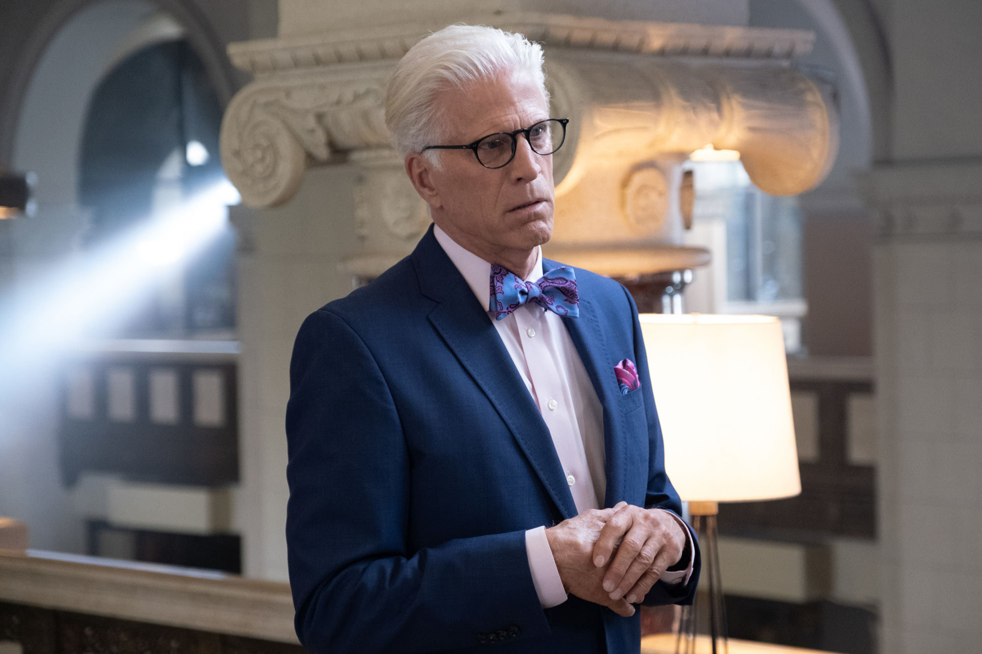 """The Good Place """"Monday's, am I right?"""""""