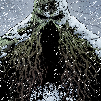 Swamp Thing Winter Special #1 cover by Jason Fabok and Brad Anderson