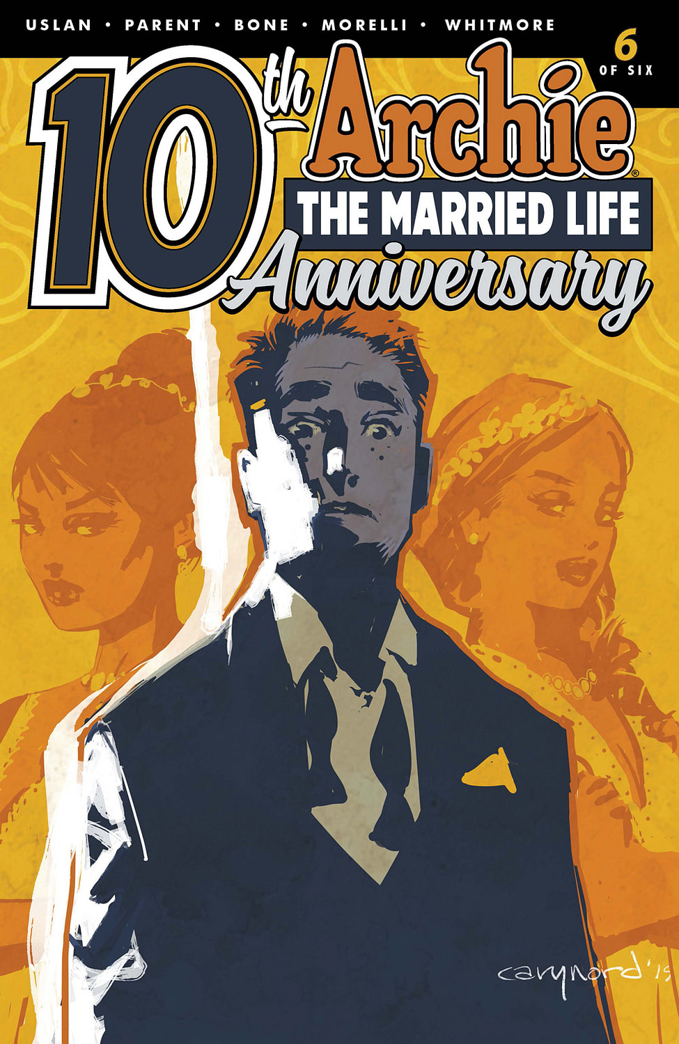 Shocking Election Results in this Preview of Archie: The Married Life: 10th Anniversary #6