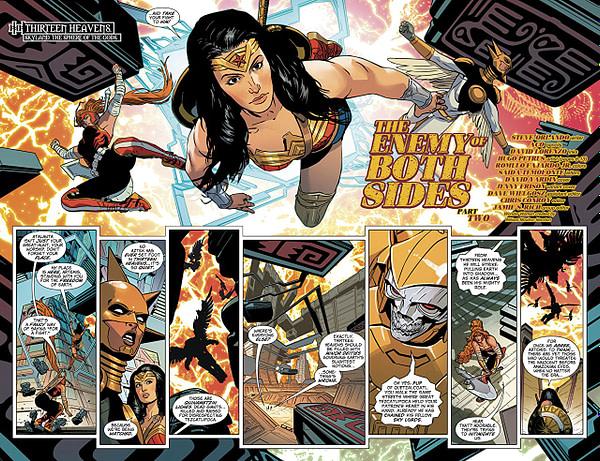 Wonder Woman #53 art by ACO, David Lorenzo, and Romulo Fajardo Jr,