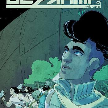 Bezkamp:  Samuel Sattin and Jen Hickman Launch New YA Graphic Novel at Lion Forge