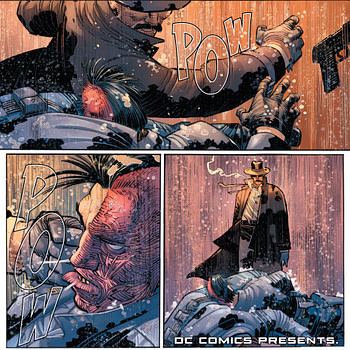 A Fist-Fight Between Plato and Socrates in Batman #80 (Spoilers)