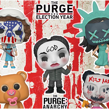 Purge Funko Pops! Will Send Chills Down Your Spine
