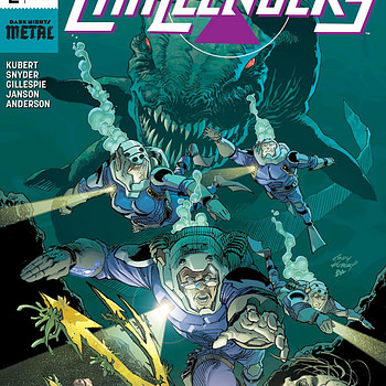 New Challengers #2 cover by Andy Kubert and Brad Anderson