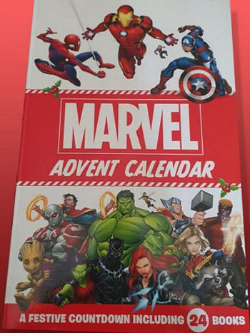 24 Comics for £10 in Marvel Advent Calendar From ASDA