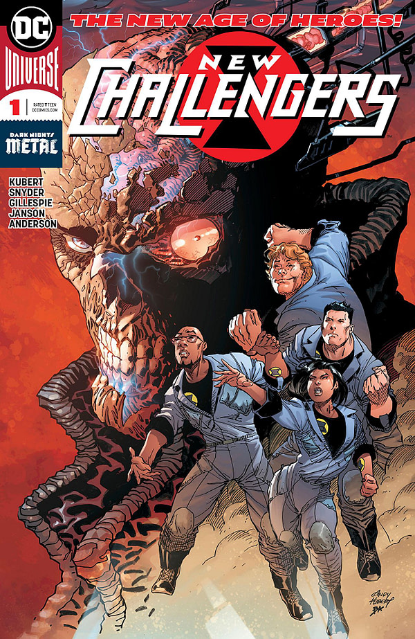 New Challengers #1 cover by Andy Kubert and Brad Anderson