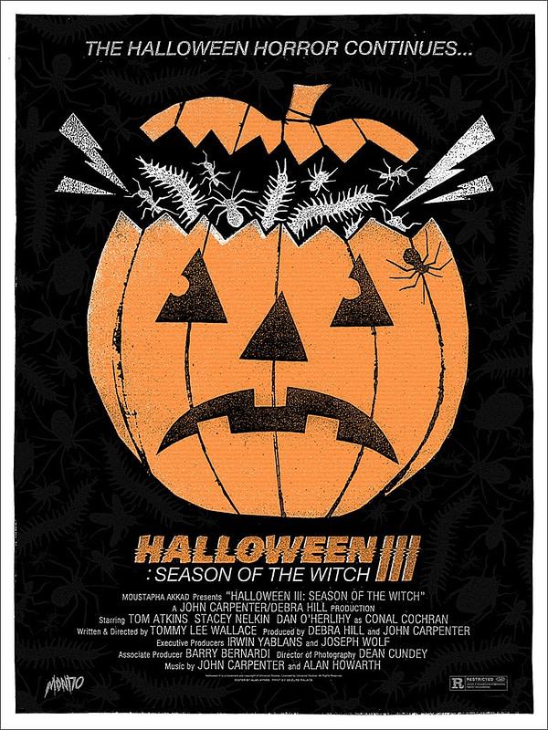 Mondo Halloween 3 Poster