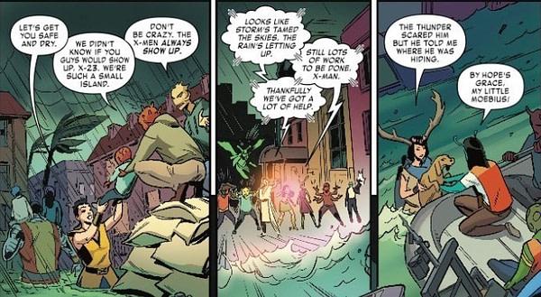 The X-Men Show Trump How to Do Disaster Relief in Next Week's Marvelous X-Men #3