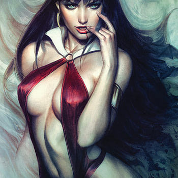 Dynamite Will Lose Money On Every Issue Of Vampirella #6 With Acetate Cover