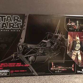 Star Wars Black Series Enfys Nest and Bike 1