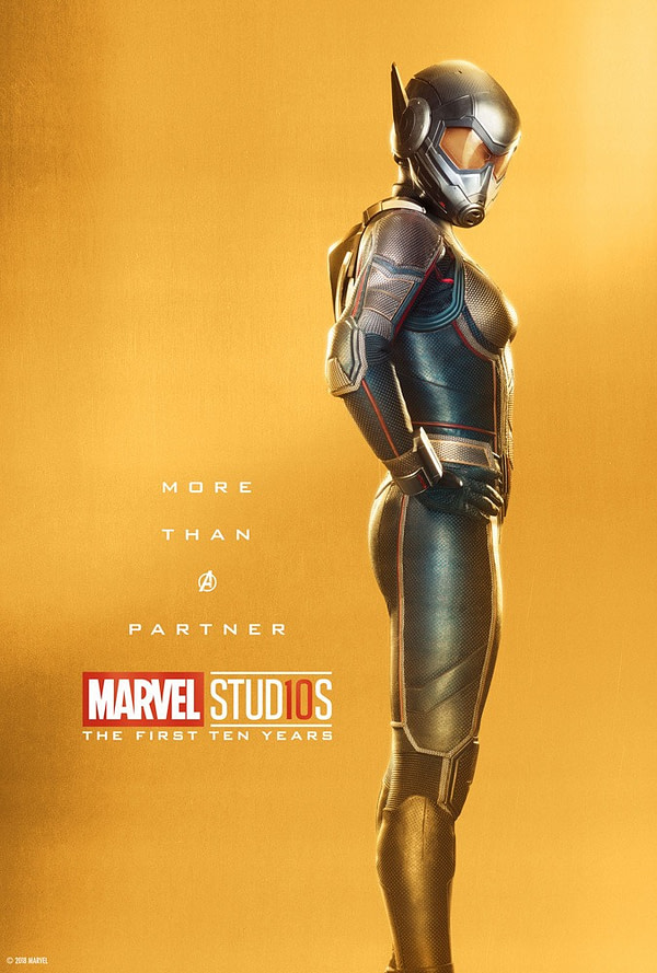 Marvel Studios More Than A Hero Poster Series Wasp