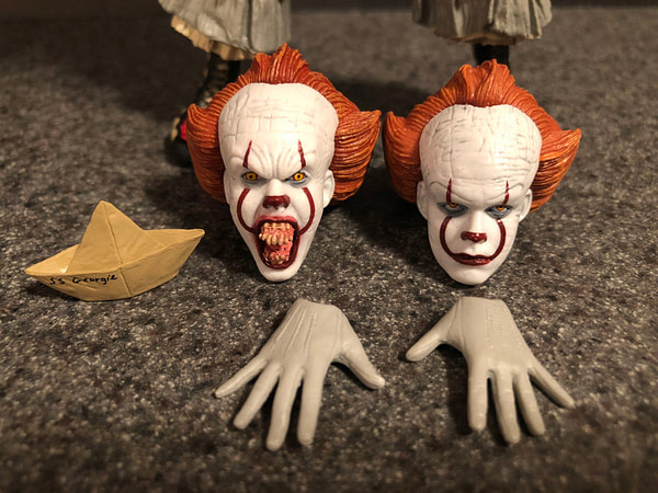 NECA Pennywise (2017) 9