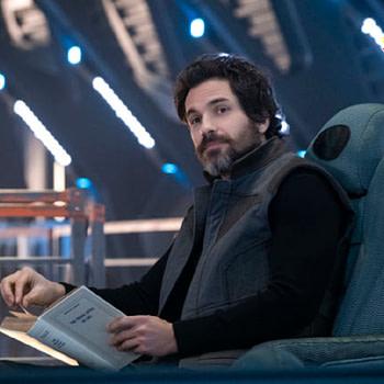 Santiago Cabrera as Cristobel Rios in Star Trek Picard